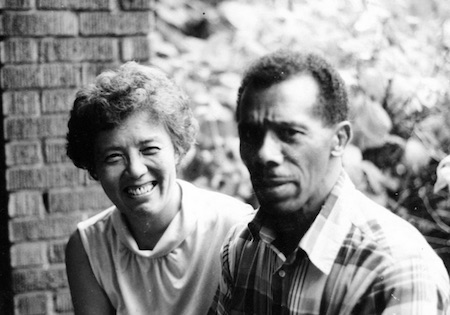 Grace Lee Boggs and husband James Boggs